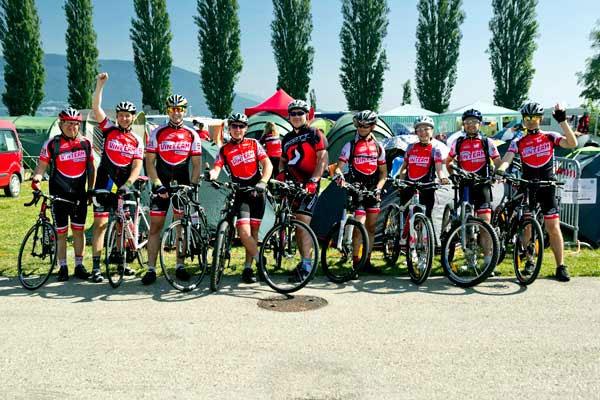 Вінничани побували на дев'ятому європейському зльоті велотуристів у Швейцарії