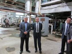 Іван Мовчан з робочою нарадоу на базі Кирнасівського цукрового заводу