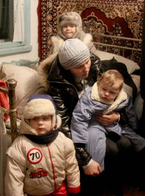діти, які мало не постраждали під час пожежі