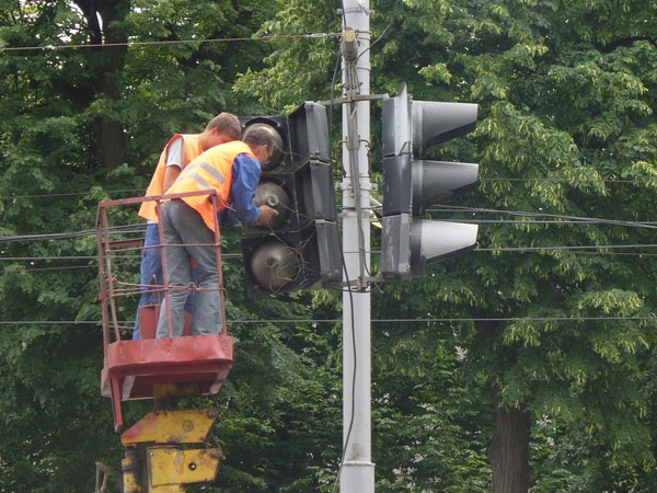 встановлення світлофорів