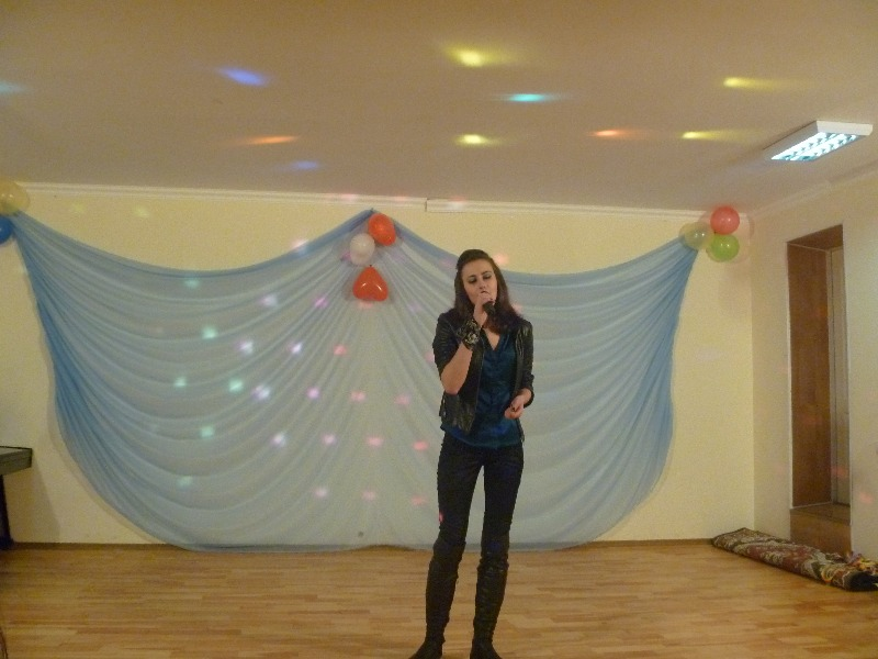 концерт до Дня Захисника Вітчизни у Сабарові