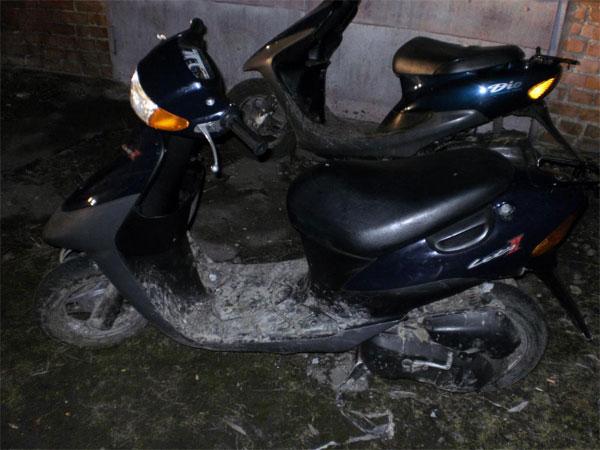 Скутер, який викрали підлітки
