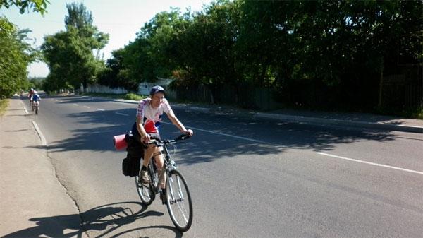 вінницький велосипедист Олександ Боярський