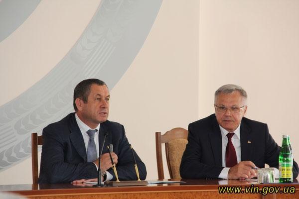 Іван Мовчан і Сергій Татусяк