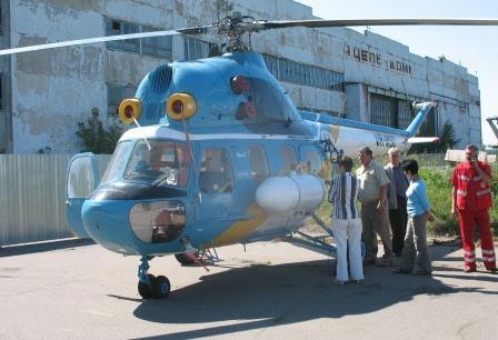 Вертоліт для санавіації