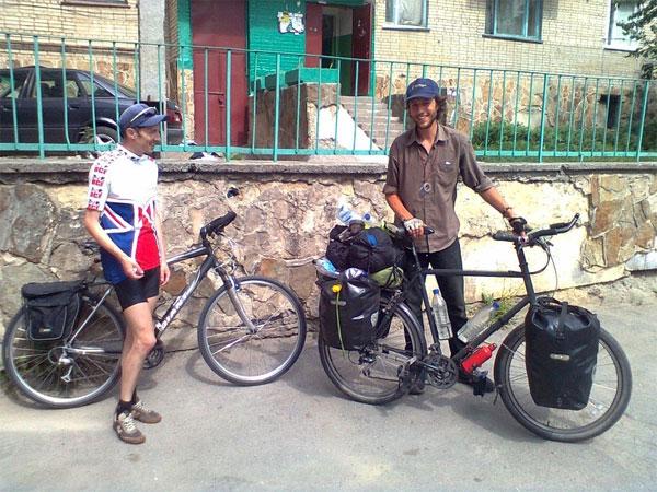 Олександр із американцем Саймоном