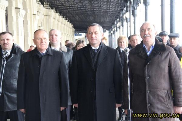 Микола Джига, Іван Мовчан та Олексій Кривопішин