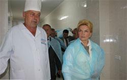 Раїса Богатирьова відвідала Калинівську центральну районну лікарню