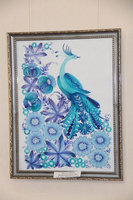 Одна із робіт, яка представлена на виставці