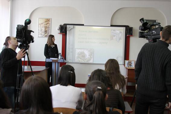 У Вінницькому торговельно-економічному коледжі відбувся урок-діалог між міліціонерами та студентами