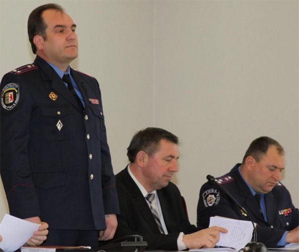 начальник міліції громадської безпекиї Гебеш Олександр Іванович