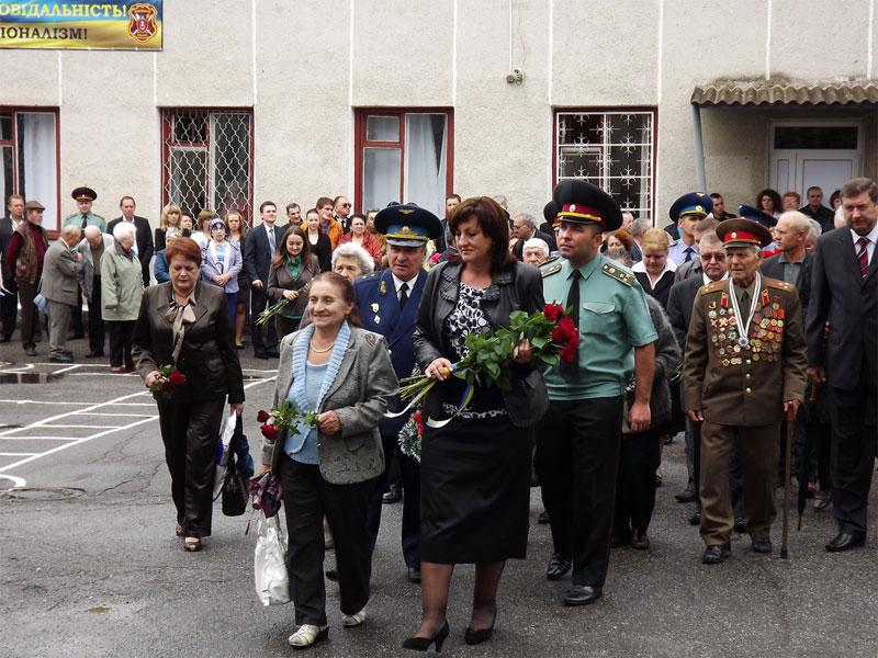 Відкриття меморіальної дошки почесному громадянину міста Вінниці генерал-майору Анатолію Бурєннікову