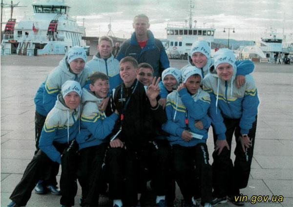 Команда з України на футбольному турнірі у Норвегії