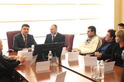 спортсмени зустрілися з мером міста Вінниці
