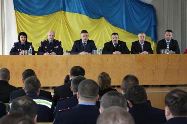 У Жмеринcькому районі новий керівник міліції