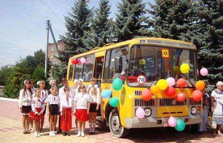 Новим автобусом поповнився шкільний автопарк Барського району