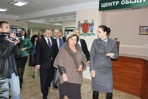 Центр обслуговування платників податків у Вінниці відвідала президент АППУ Валентина Арбузова