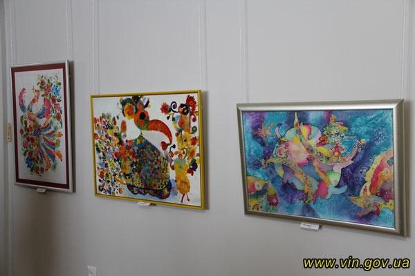 роботи Анни Гижко, які представлені на виставці