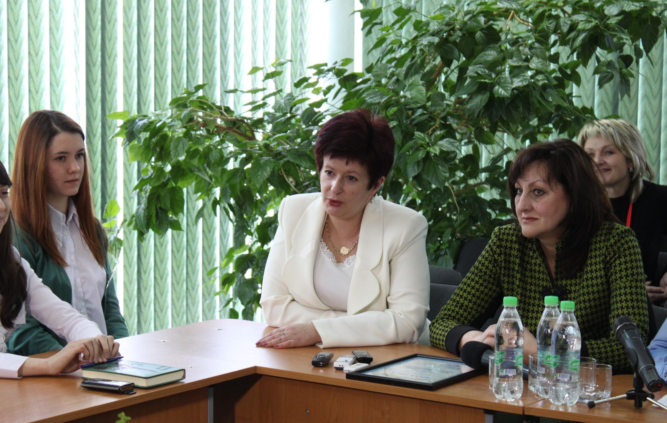 Валерія Лутковська у Вінниці