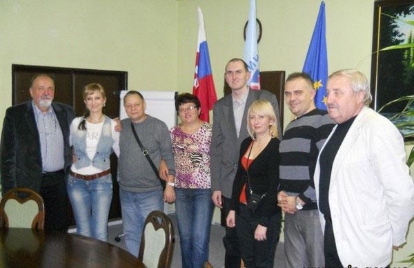 Делегація освітян Вінниччини з робочим візитом у  Словацькій Республіці