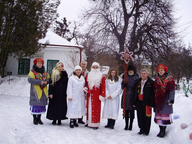 Різдвяні свята  в музеї Коцюбинського