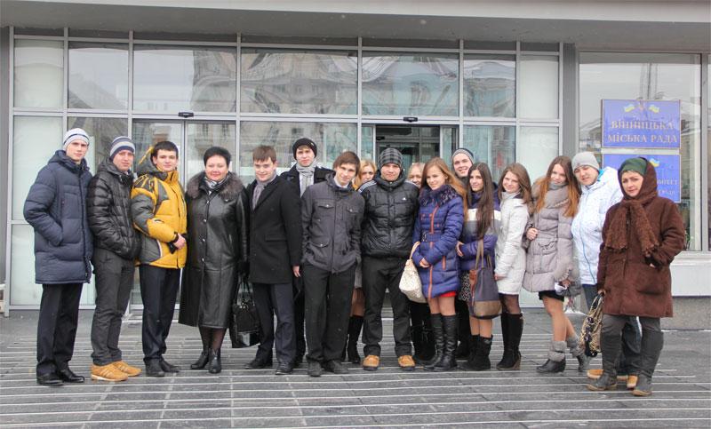 Досвід шкільних лідерів Вінниці вивчали лідери учнівського самоврядування зі Львова
