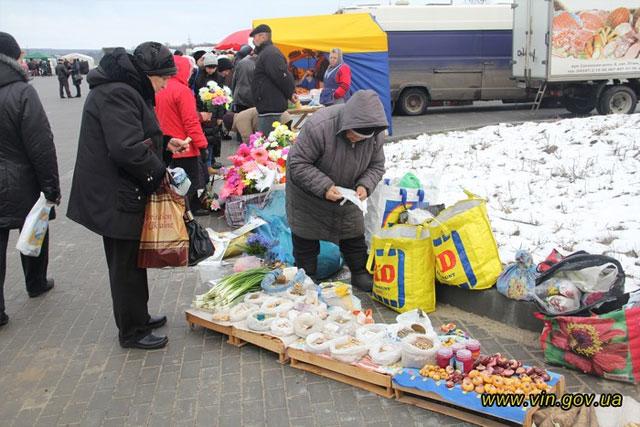 Сьогодні у Вінниці на Вишеньці проходить Великодній ярмарок