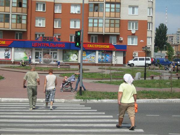 Новий світлофор з'явився по вулиці Зотчих і Академіка Ющенка