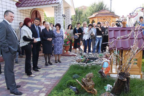 """Визначення переможців конкурсу """"Зразкова садиба-2012"""""""