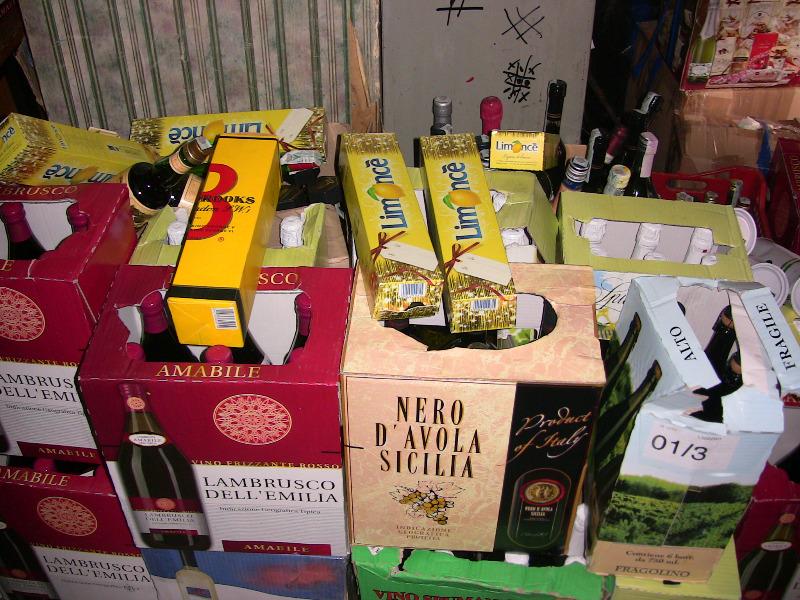 нелегальні алкогольні напої