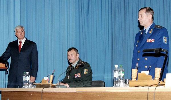 Міністр оборони України у Вінниці