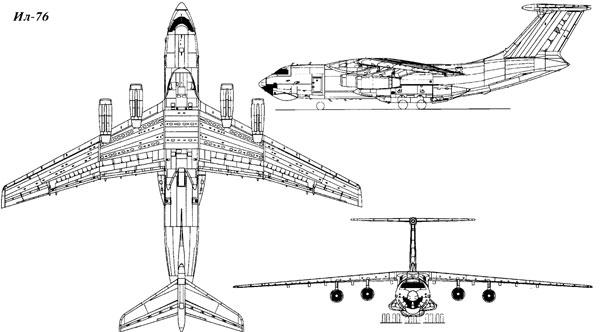 літака ІЛ-76