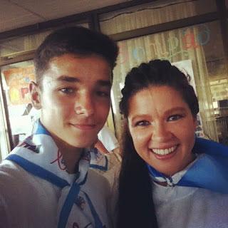 Микола Должиков із Русланою