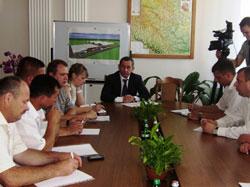 Зустріч Івана Мовчана з головами Немирівської та Іллінецької райдержадміністрації