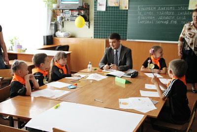 Володимир Гройсман у пришкільних таборах