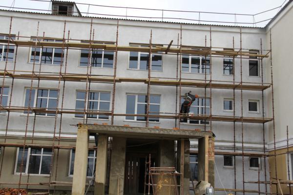 Будівництво нової школи у Шаргородському районі