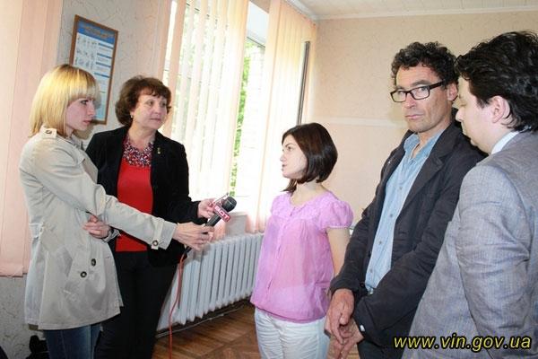 На Вінниччині побували експерти україно-швейцарської Програми «Здоров'я матері та дитини»