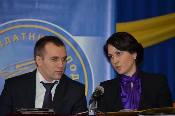 Оксана Калетник і Юрій Македон