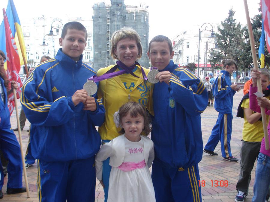 Інна Осипенко -Радомська  повернулася до Вінниці з Олімпійських ігор