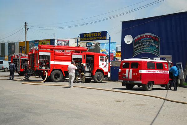 Пожежа на Тяжилові