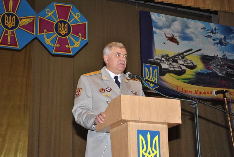 Перший заступник командувача Повітряних Сил ЗС України генерал-майор Сергій Дроздов