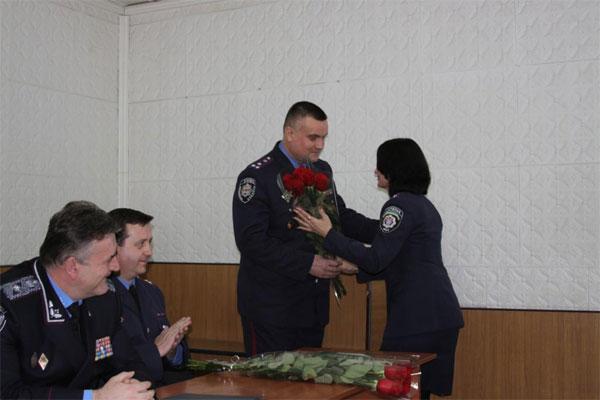 Віктор Русин призначив нових керівників райвідділів міліції