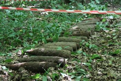 У місті Гнівань знайшли 26 боєприпасів та 4 вибухівника часів II світової війни