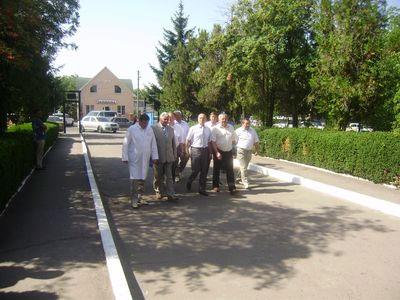 Голова облдержадміністрації відвідує лікарні Бершадського району