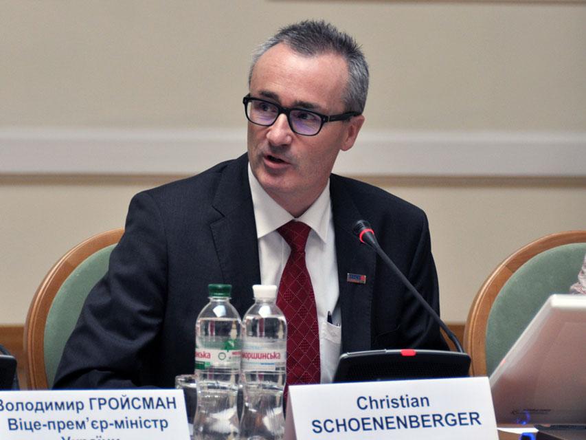 Посол Швейцарії Крістіан Шьоненбергер