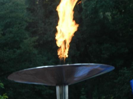 Олімпійський вогонь запалав у Вінниці