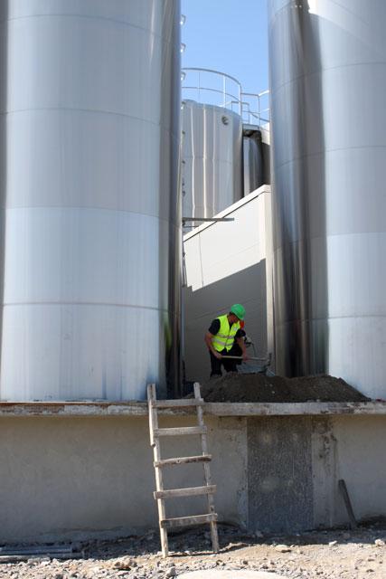 Будівництво молочноконсервного заводу Корпорації «Рошен»
