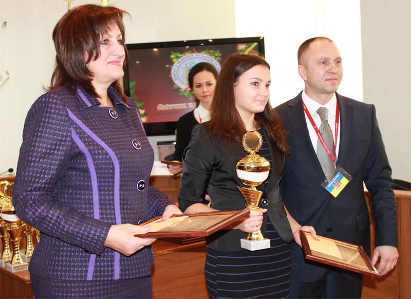 Нагородження вінницьких спортсменів