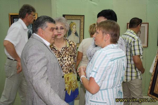 22 серпня у Вінниці відкрилась виставка картин відомого російського художника Нікаса Сафронова