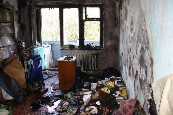Пожежа в квартирі по вул. Карла Маркса